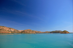 Dugong Bay in the Buccaneer Archipelago on the Kimberley coast.