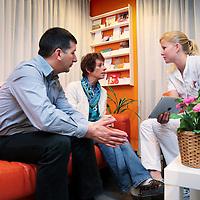 Nederland, Haarlem, 2 juni 2015.<br />De familiekamer in het Spaarne Gasthuis.<br /><br /><br />Foto: Jean-Pierre Jans