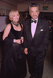 MRS SEMIRAMIS LALVANI and her former husband MR GULU LALVANI a friend of the late Diana, Princess of Wales, at a ball in London on 29th September 1997.<br /> MBS 40
