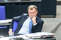 05 MAR 2021, BERLIN/GERMANY:<br /> Dirk Spaniel, MdB, AfD, waehrend einer Bundestagsdebatte, Plenum, Reichstagsgebaeude, Deutscher Bundestag<br /> IMAGE: 20210305-01-0