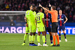 November 2, 2018 - Paris, Ile-de-France, France - Neymar Jr #10 during the french Ligue 1 match between Paris Saint-Germain (PSG) and Lille (LOSC) at Parc des Princes stadium on November 2, 2018 in Paris, France. (Credit Image: © Julien Mattia/NurPhoto via ZUMA Press)