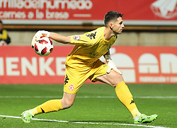 October 31, 2018 - Leon, Leon, Spain - Goalkeeper of Cultural Leonesa in action during the King Spanish championship, , football match between Cultural Leonesa and Barcelona, October 31, in Reino de Leon Stadium in Leon, Spain. (Credit Image: © AFP7 via ZUMA Wire)