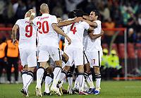 Fotball<br /> Egypt v Italia<br /> Foto: DPPI/Digitalsport<br /> NORWAY ONLY<br /> <br /> FOOTBALL - CONFEDERATIONS NATIONS CUP 2009 - GROUP B - 1ST ROUND - EGYPT v ITALY - 18/06/2009<br /> <br /> JOY EGYPT