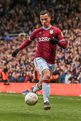 March 10, 2019 - Birmingham, England, United Kingdom - Anwar El Ghazi of Aston Villa during the Sky Bet Championship match between Birmingham City and Aston Villa at St Andrews, Birmingham on Sunday 10th March 2019. (Credit Image: © Mi News/NurPhoto via ZUMA Press)