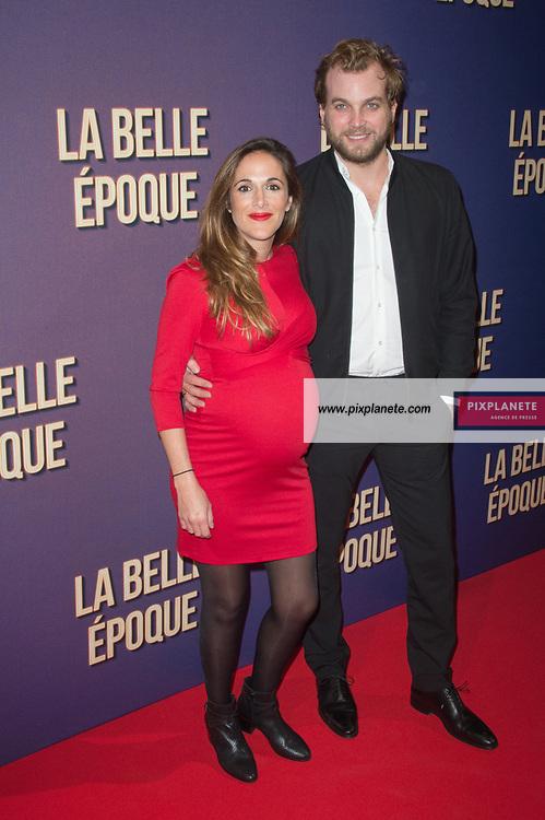 Victoria Bedos  et son compagnon Romain Battisti Avant première du film La Belle Epoque Jeudi 17 Octobre 2019 Gaumont Opéra Paris