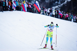 Vesna Fabjan (SLO)during Ladies 1.2 km Free Sprint Qualification race at FIS Cross<br /> Country World Cup Planica 2016, on January 16, 2016 at Planica,Slovenia. Photo by Ziga Zupan / Sportida