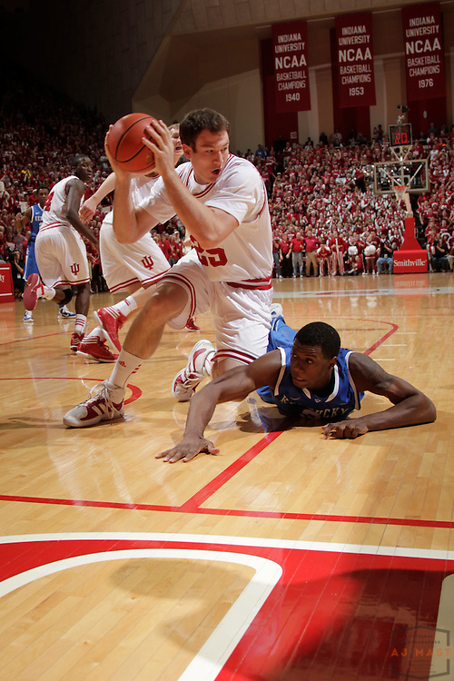 10 December 2011: Indiana Forward Tom Pritchard (25)  as the Indiana Hoosiers played the Kentucky Wildcats in a college basketball game in Bloomington, Ind.