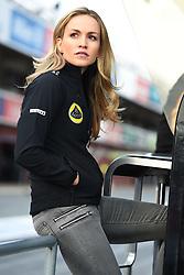 26.02.2015, Circuit de Catalunya, Barcelona, ESP, FIA, Formel 1, Testfahrten, Barcelona, Tag 1, im Bild Carmen Jorda (ESP) Lotus F1 Team development driver // during the Formula One Testdrives, day one at the Circuit de Catalunya in Barcelona, Spain on 2015/02/26. EXPA Pictures © 2015, PhotoCredit: EXPA/ Sutton Images/ Mark Images<br /> <br /> *****ATTENTION - for AUT, SLO, CRO, SRB, BIH, MAZ only*****