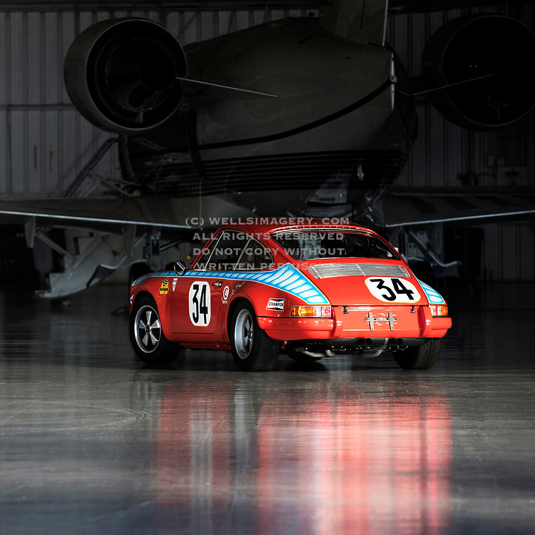 """Image of """"Sloopy Junior"""" - a Tangerine 1971 Porsche 911 ST in California, America west coast by Randy Wells"""