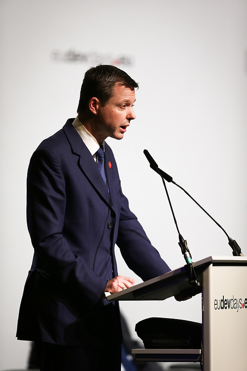 03 June 2015 - Belgium - Brussels - European Development Days - EDD - Food - Joining forces to make undernutrition history - Thomas Silberhorn , Parliamentary State Secretary to the Federal Minister for Economic Cooperation and Development , Germany © European Union