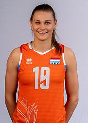 Nika Daalderop of Netherlands, Photoshoot selection of Orange women's volleybal team season 2021on may 12, 2021 in Arnhem, Netherlands (Photo by RHF Agency/Ronald Hoogendoorn)