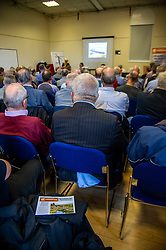 Pictured:<br /> The Campaign for Borders Rail 20th Anniversary Annual<br /> General Meeting. Opening address from Christine Grahame MSP, a regular user of the service, gave the opening address<br /> <br /> Ger Harley | EEm 8 October 2019