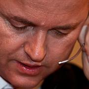 NLD/Hilversum/20100121 - Benefietactie voor het door een aardbeving getroffen Haiti, Geert Wilders