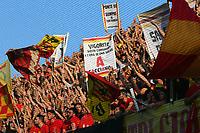Tifosi del Benevento fans, supporters<br /> Benevento 08-06-2017  Stadio Ciro Vigorito<br /> Football Campionato Serie B 2016/2017. Finale Play-off<br /> Benevento - Carpi<br /> Foto Cesare Purini / Insidefoto