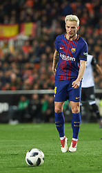 February 8, 2018 - Valencia, Valencia, Spain - Ivan Rakitic of FC Barcelona during the spanish Copa del Rey semi-final, second leg match between Valencia CF and FC Barcelona at Mestalla Stadium, on February 8, 2018 in Valencia, Spain  (Credit Image: © Maria Jose Segovia/NurPhoto via ZUMA Press)