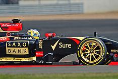 2014 Test July Silverstone