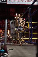 Muay Thai (Thai Boxing) fight night in Chiang Mai, Thailand