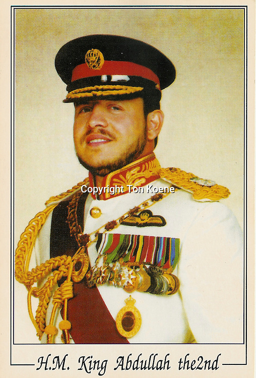 poster of abdullah 2 nd, king of jordan