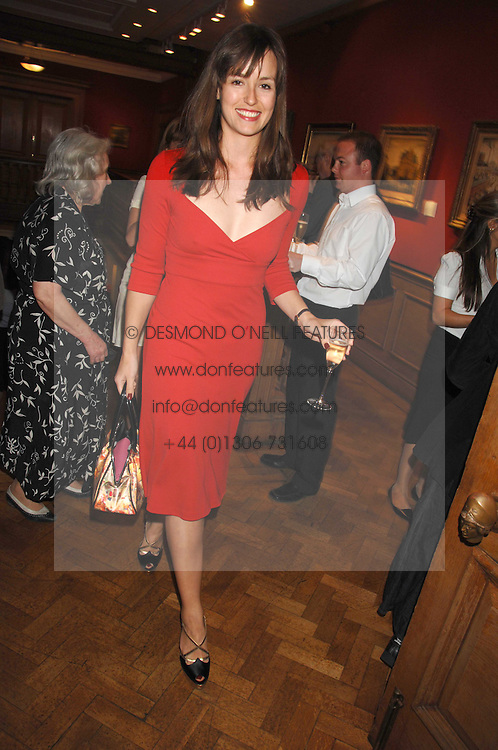 LADY ROSE INNES-KERR at a reception to launch the Knight of Glin's book 'Irish Furniture' and Harry Erne's book 'Freddy Lond Ears' held at Christie's, 8 King Street, London SW1 on 3rd May 2007.<br />