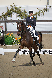Schellekens-Bartels Imke (NED) - Hunter Douglas Sunrise<br /> European Championship Dressage Windsor 2009<br /> © Hippo Foto - Dirk Caremans