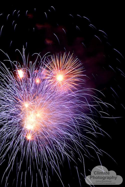 Fireworks in Eagle, CO.  July 4, 2015