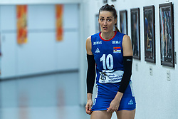 19-10-2018 JPN: Semi Final World Championship Volleyball Women day 20, Yokohama<br /> Serbia - Netherlands / Maja OgnjenovicC #10 of Serbia