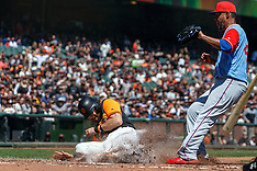 20180826 - Texas Rangers at San Francisco Giants