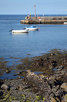 Harbour, Groomsport, Co Down, N Ireland, UK, travel, tourism, 201208100478..Copyright Image from Victor Patterson, 54 Dorchester Park, Belfast, UK, BT9 6RJ..Tel: +44 28 9066 1296.Mob: +44 7802 353836.Voicemail +44 20 8816 7153.Skype: victorpattersonbelfast.Email: victorpatterson@me.com.Email: victorpatterson@ireland.com (back-up)..IMPORTANT: If you wish to use this image or any other of my images please go to www.victorpatterson.com and click on the Terms & Conditions. Then contact me by email or phone with the reference number(s) of the image(s) concerned.