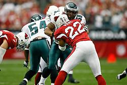 18 Jan 2009: Philadelphia Eagles linebacker Akeem Jordan #56 during the NFC Championship game against the Arizona Cardinals on January 18th, 2009. The Cardinals won 32-25 at University of Phoenix Stadium in Glendale, Arizona. (Photo by Brian Garfinkel)