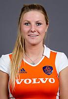 Den Bosch - 2012 Jong Oranje dames , U18,  Sabine van Silfhout.  COPYRIGHT KOEN SUYK