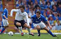 Simon Davies (Tottenham) David Dunn (Birmingham) Birmingham City v Tottenham Hotspur, FA Premiership, 16/08/2003. Credit: Colorsport / Matthew Impey DIGITAL FILE ONLY