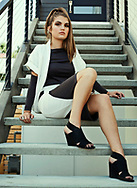 Model: Taylor Benson wearing outfit designed by Jessica Smith and Styled by Kaitlin Esary. MUA Ebony Williams.