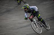 Cruiser - 12 & Under Men #33 (RICHARDSON Max) NZL at the 2018 UCI BMX World Championships in Baku, Azerbaijan.