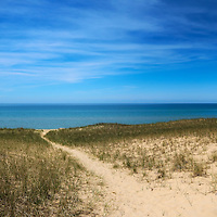 """Esch Beach""<br /> <br /> Beautiful Esch Beach on the shores of Lake Michigan!"