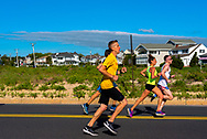 Spring Lake, NJ USA -- May 27, 2017 Runners race down Ocean Avene in the annual Spring Lake 5 mile Race. Editorial Use Only.