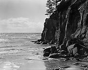 """9808-A91. """"Rock Ledge – Otter Rock"""" Oregon, about 1920"""