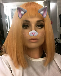 """Kelly Osbourne releases a photo on Instagram with the following caption: """"What do you guys think of my new do?\ud83d\udc81"""". Photo Credit: Instagram *** No USA Distribution *** For Editorial Use Only *** Not to be Published in Books or Photo Books ***  Please note: Fees charged by the agency are for the agency's services only, and do not, nor are they intended to, convey to the user any ownership of Copyright or License in the material. The agency does not claim any ownership including but not limited to Copyright or License in the attached material. By publishing this material you expressly agree to indemnify and to hold the agency and its directors, shareholders and employees harmless from any loss, claims, damages, demands, expenses (including legal fees), or any causes of action or allegation against the agency arising out of or connected in any way with publication of the material."""