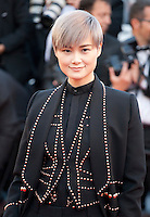 Li Yuchun at the gala screening for the film Mal De Pierres (From the Land of the Moon) at the 69th Cannes Film Festival, Sunday 15th May 2016, Cannes, France. Photography: Doreen Kennedy