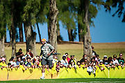 January 30 2016: Cincinnati Bengals Adam Jones warms up before the final Pro Bowl practice at Turtle Bay Resort on Oahu, HI. (Photo by Aric Becker/Icon Sportswire)