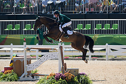 Broderick Greg Patrick, IRL, Mhs Going Global<br /> owner of the horse of Jerome with arms in the air<br /> Olympic Games Rio 2016<br /> © Hippo Foto - Dirk Caremans<br /> 14/08/16