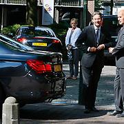 NLD/Laren/20110711 - Uitvaart Jaap Blokker, Maxim Verhagen