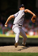 CHICAGO - 1987:  Dave Righetti of the New York Yankees pitches during an MLB game versus the Chicago White Sox during the 1987 season at Comiskey Park in Chicago, Illinois. (Photo by Ron Vesely) Subject:   Dave Righetti