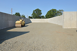 Construction Progress Photograph, Sea Street Salt Storage Facility, New Haven. Progress Documentation Submission 4.