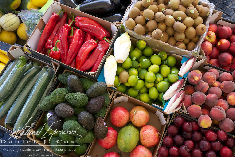 Details of produce at the Galway Farmers, Market, Galway, Ireland.