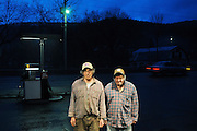 Brothers Larry and Stanley Armstrong purchased the Middle Branch Market not far from their East Randolph, Vt., dairy Farm at a foreclosure auction and brought it back to life with a deli, pizzeria and gas sales under its former manager Merradee Lyons. Thursday, March 8, 2012. <br /> Valley News - James M. Patterson