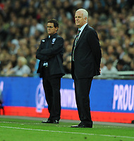 Bernd Stange Manager<br /> Belarus 2009/10<br /> England V Belarus (3-0) 14/10/09 <br /> Fifa World Cup Qualifier<br /> Photo Robin Parker Fotosports International