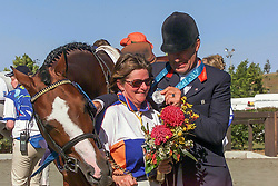 Voorn Albert (NED) - Lando and Irma<br /> Olympic Games Sydney 2000<br /> © Dirk Caremans