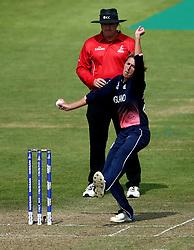 Jenny Gunn of England Women bowls - Mandatory by-line: Robbie Stephenson/JMP - 09/07/2017 - CRICKET - Bristol County Ground - Bristol, United Kingdom - England v Australia - ICC Women's World Cup match 19