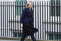 Downing Street, London, November 29th 2016. Home Secretary Amber Rudd arrives at 10 Downing Street for the weekly meeting of the UK cabinet.