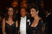 Georgina Brandolini, Valentino and Marina Palma, Belle Epoche gala fundraising dinner. National Gallery. 16 March 2006. ONE TIME USE ONLY - DO NOT ARCHIVE  © Copyright Photograph by Dafydd Jones 66 Stockwell Park Rd. London SW9 0DA Tel 020 7733 0108 www.dafjones.com